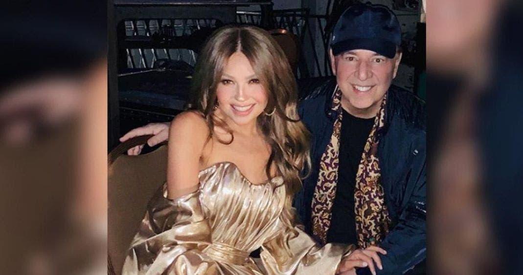 Vídeo: Thalía y Tommy Motolla comienzan festejo de aniversario