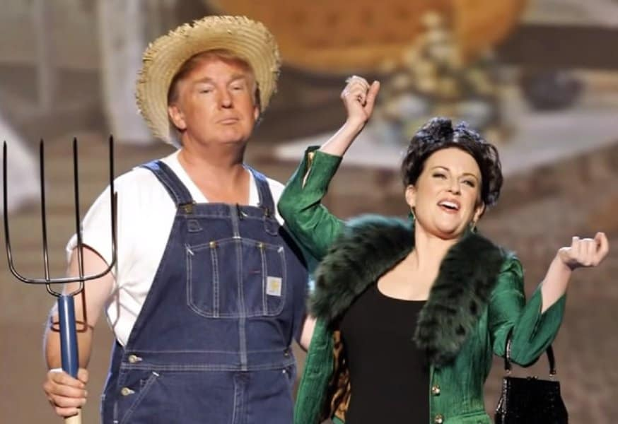 """""""La Cabaña del Tío Trump""""."""