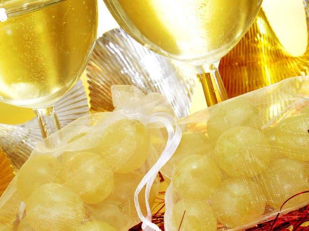Ideas originales de decorar tus uvas para Año Nuevo
