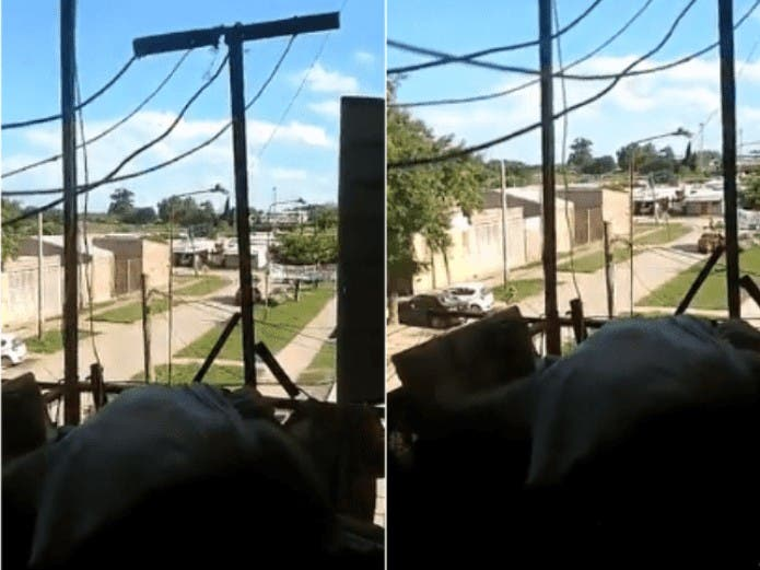 Vecina graba asesinato desde su ventana VÍDEO