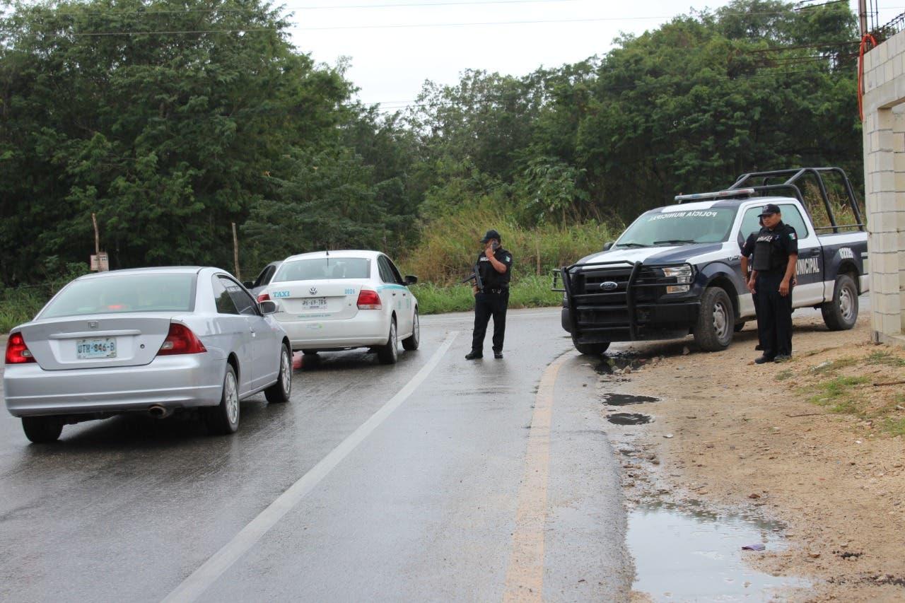Refuerzan patrullaje policiaco en Playa del Carmen