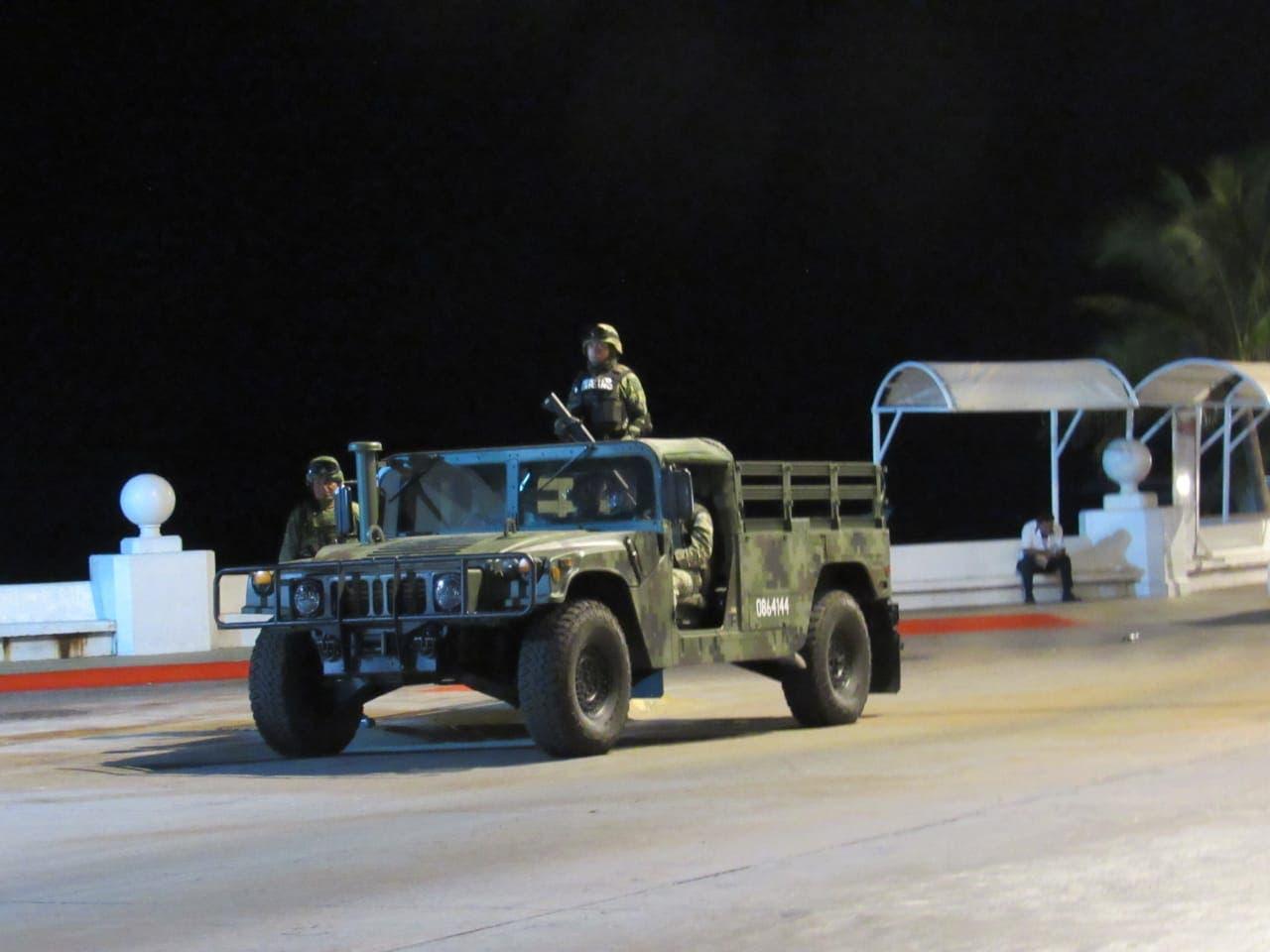 Arriban elementos de la Policía Militar a Cozumel