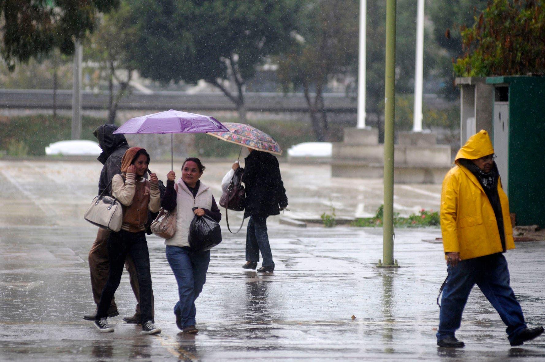 Pronostican lluvias dispersas para la Península
