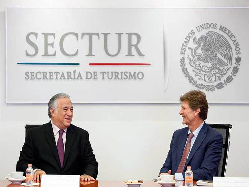 Miguel Torruco Marqués, tomó posesión de la Sectur
