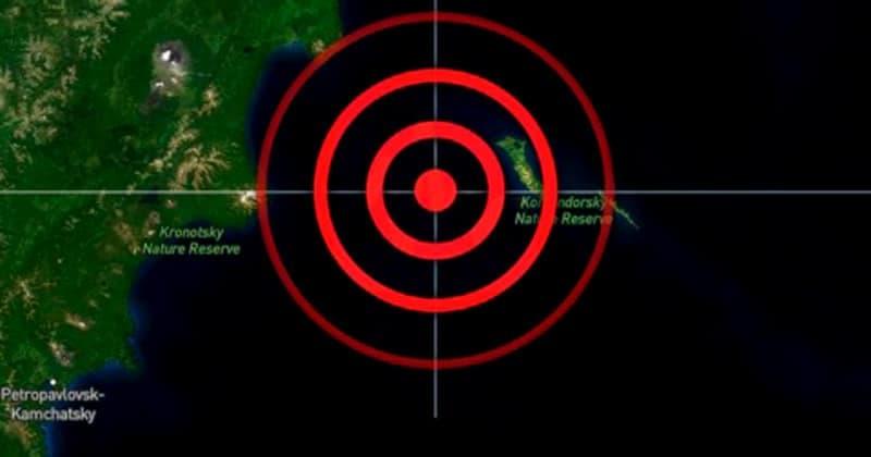 Alerta de Tsunami en Rusia tras el potente terremoto de hoy jueves