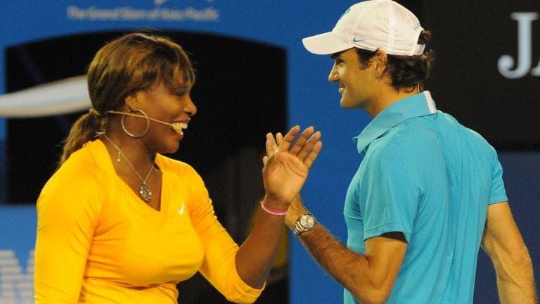 Serena Williams contra Roger Federer en Copa Hopman