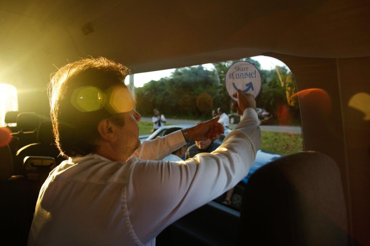 Impulsa Pedro Joaquín estrategias de Promoción turística para Cozumel