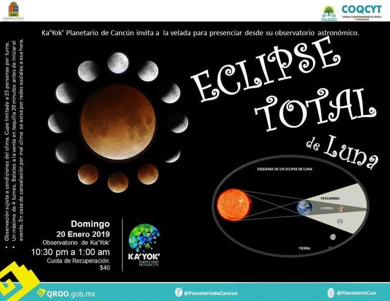 ¡Todos podremos ver el eclipse total de Luna!