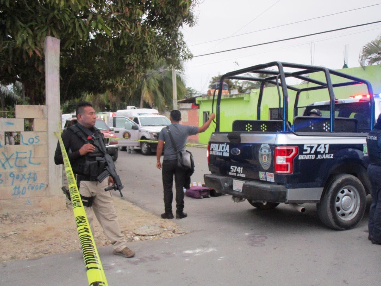 Identifican a un presunto autor de la masacre en Cancún