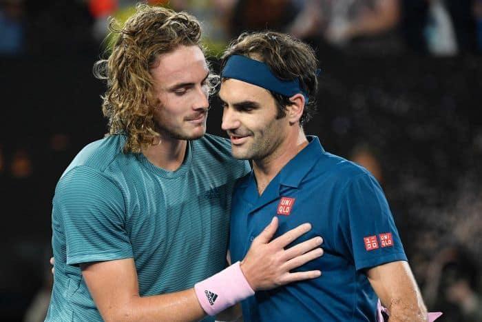 Stefanos Tsitsipas derrota a Roger Federer en el Abierto de Australia