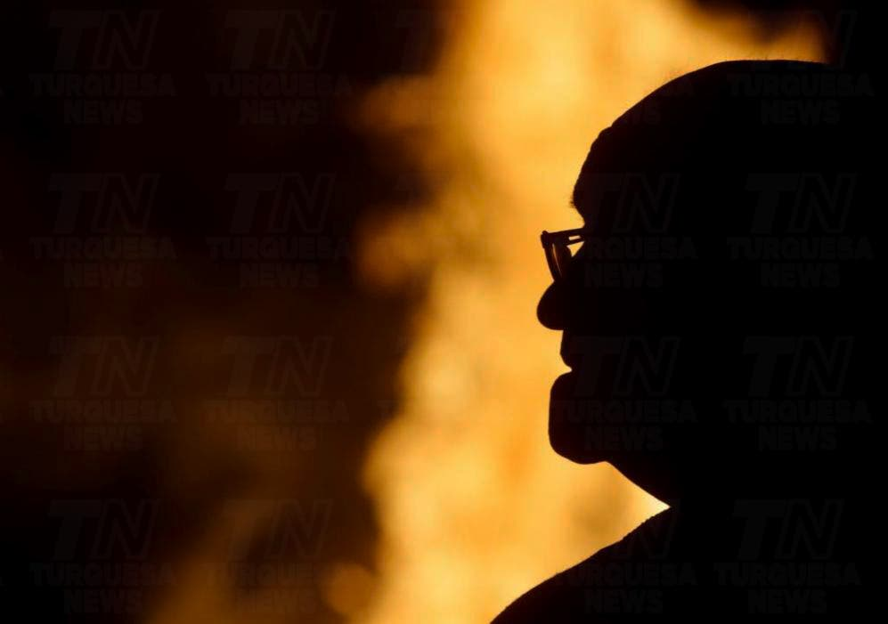 Abuelito de Yucatán pierde su casa por incendio