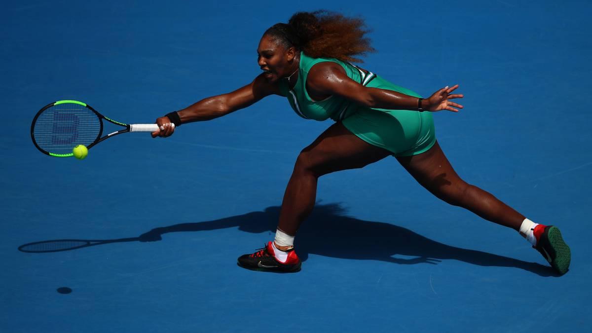 Con 'Serenatardo' incluido, Serena Williams se estrenó en Abierto de Australia