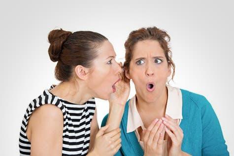 """La noticia """"de boca en boca"""" puede ser muy dañina, si no se tiene la certeza """"de lo que nos dijeron""""."""