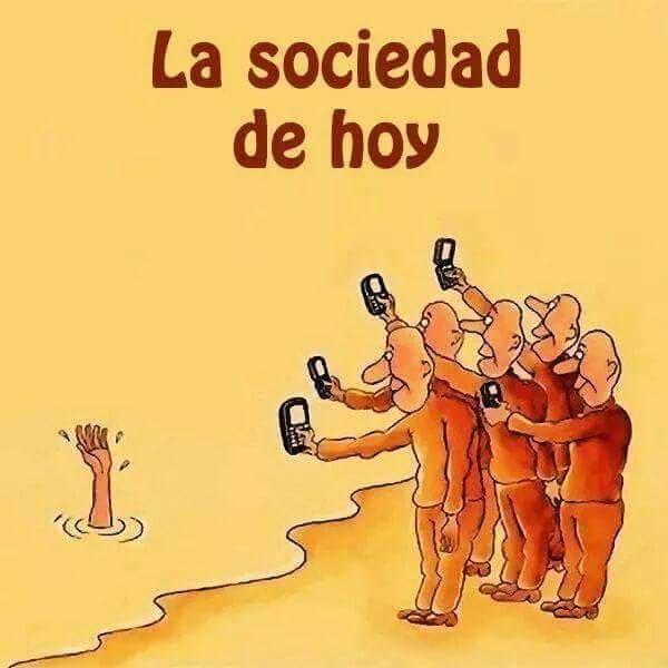 Tristemente, lo que pasa en la sociedad actual.