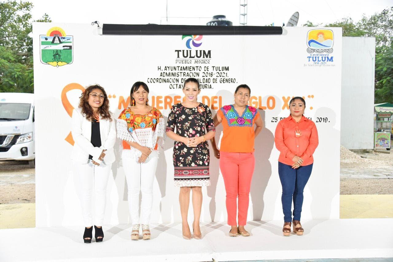 Luchan para erradicar la violencia contra mujeres en Tulum