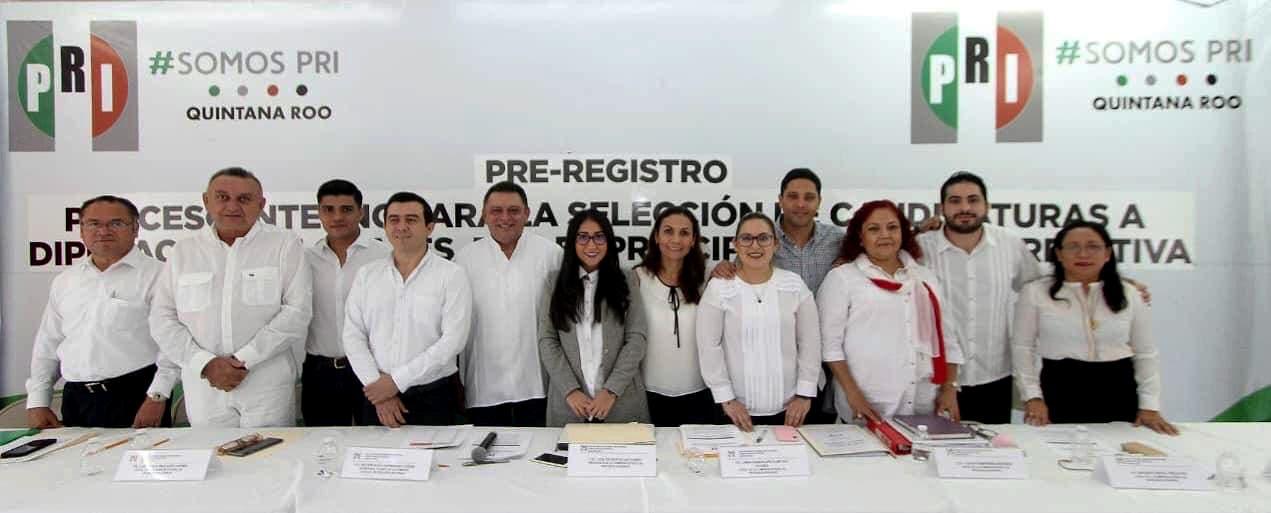 Inicia registro de aspirantes como diputados el PRI