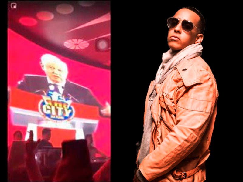 """Vídeo: AMLO y Daddy Yankee cantan """"La Gasolina"""""""