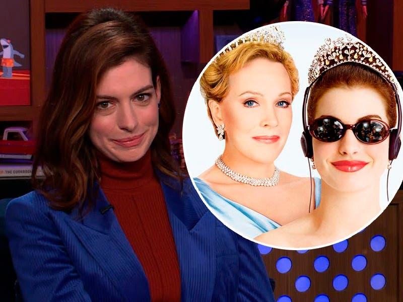 """Anne Hathaway confirma que habrá """"Diario de la Princesa 3"""""""