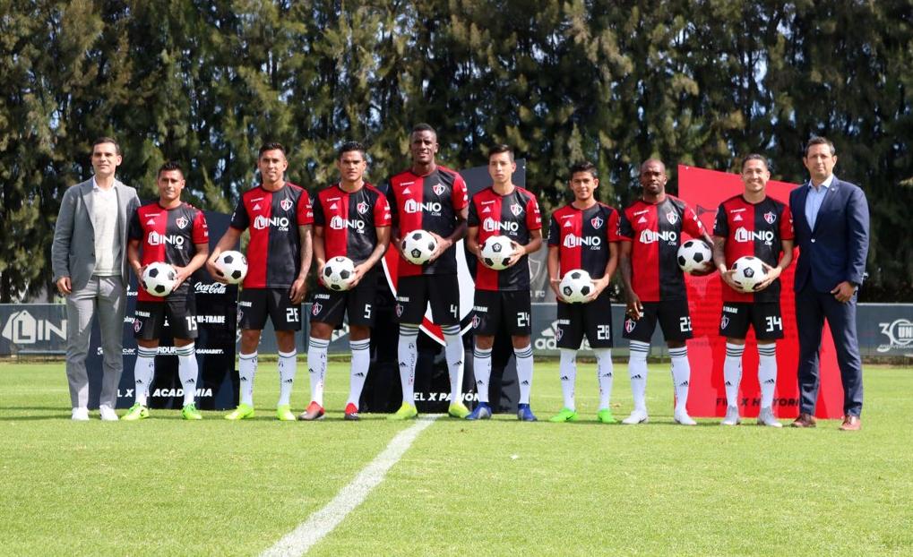 Liga MX: Atlas presenta a sus refuerzos del Clausura 2019