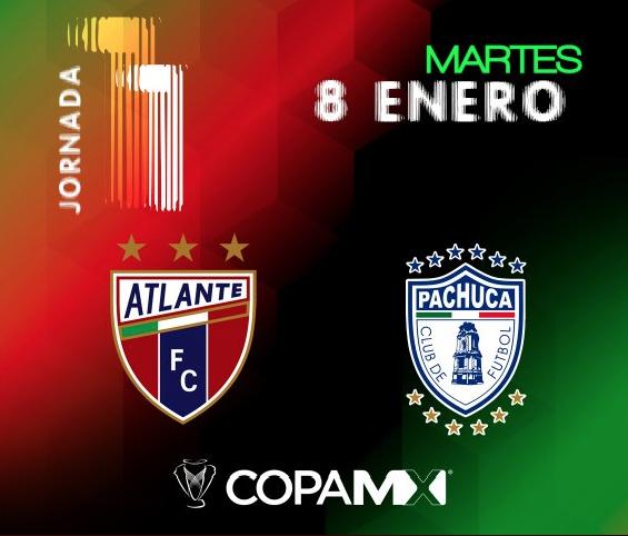 Copa MX: Atlante recibe a los Tuzos de Pachuca esta noche