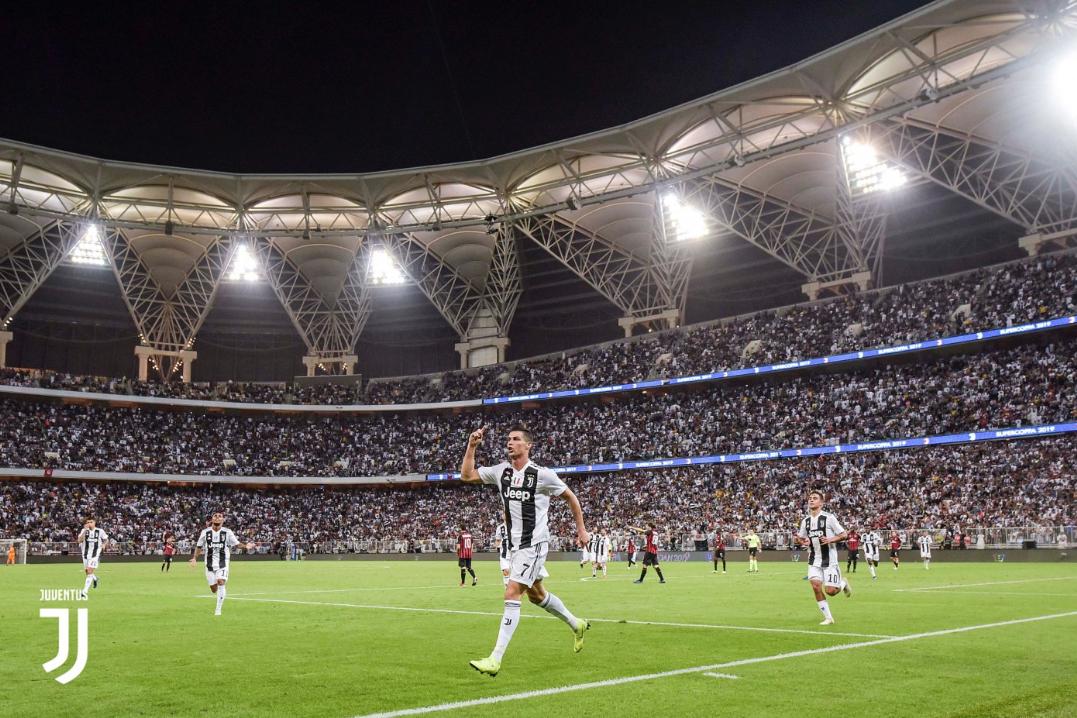 Supercopa de Italia: Cristiano Ronaldo gana su primer trofeo con Juventus
