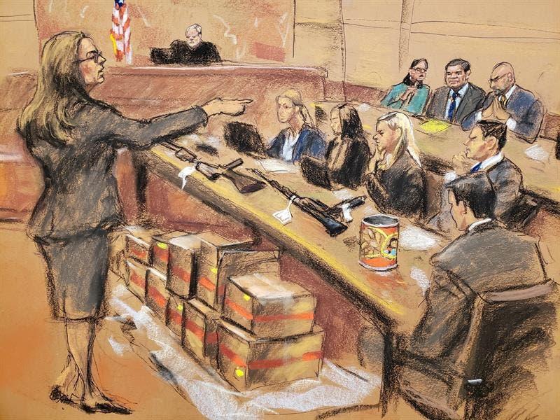 """Hay """"dudas"""" entre el jurado en el juicio del """"Chapo"""" Guzmán"""