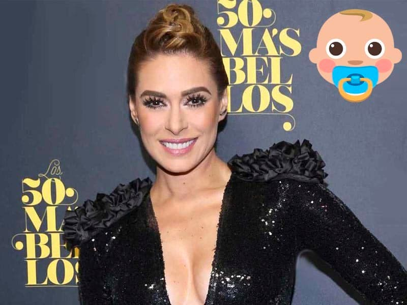 Galilea Montijo podría estar embarazada y esperaría a su segundo hijo
