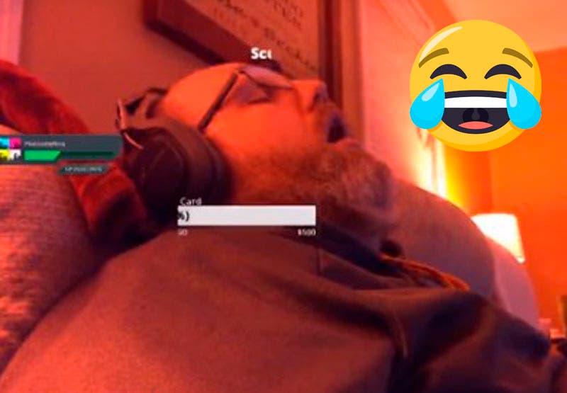 Vídeo: Gamer se queda dormido, se burlan de él y se hace viral en redes sociales