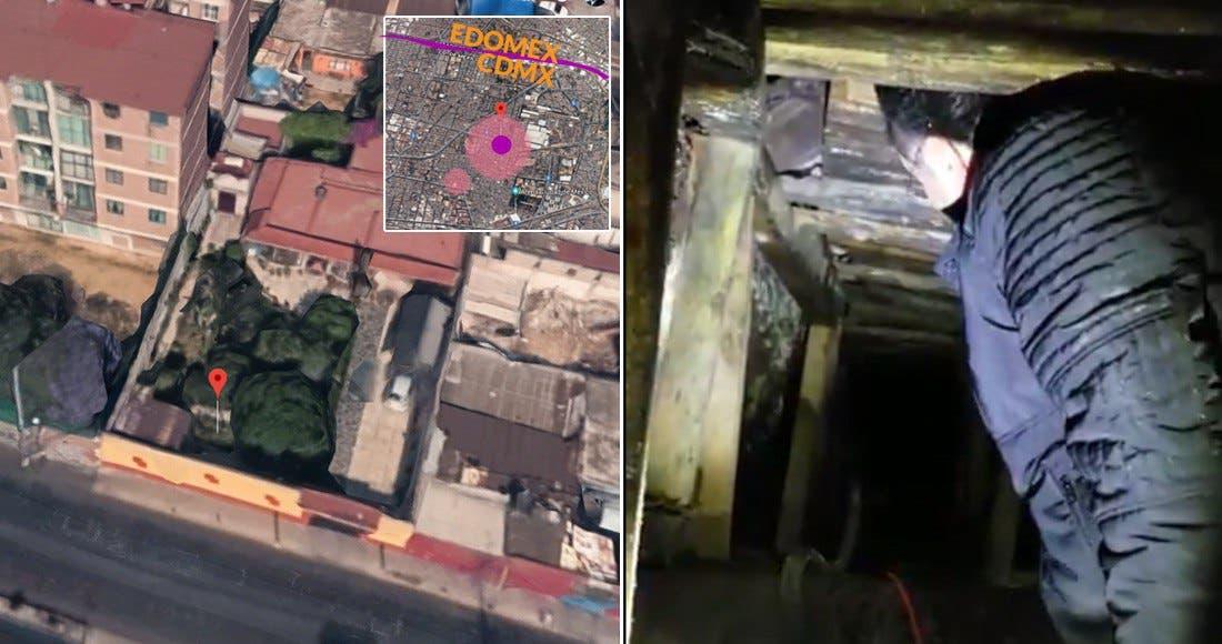 """Descubren """"huachicotúnel"""" en Azcapotzalco, CdMx"""