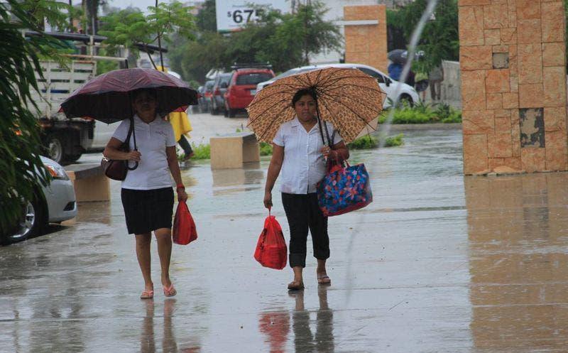 Se esperan más lluvias para Quintana Roo