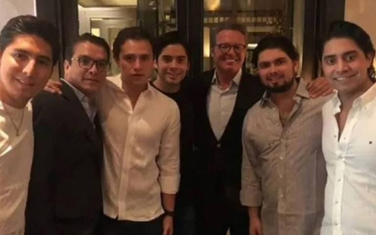 Luis Miguel: Sorpresa reaparece en fiesta de hijo de Enrique Peña Nieto