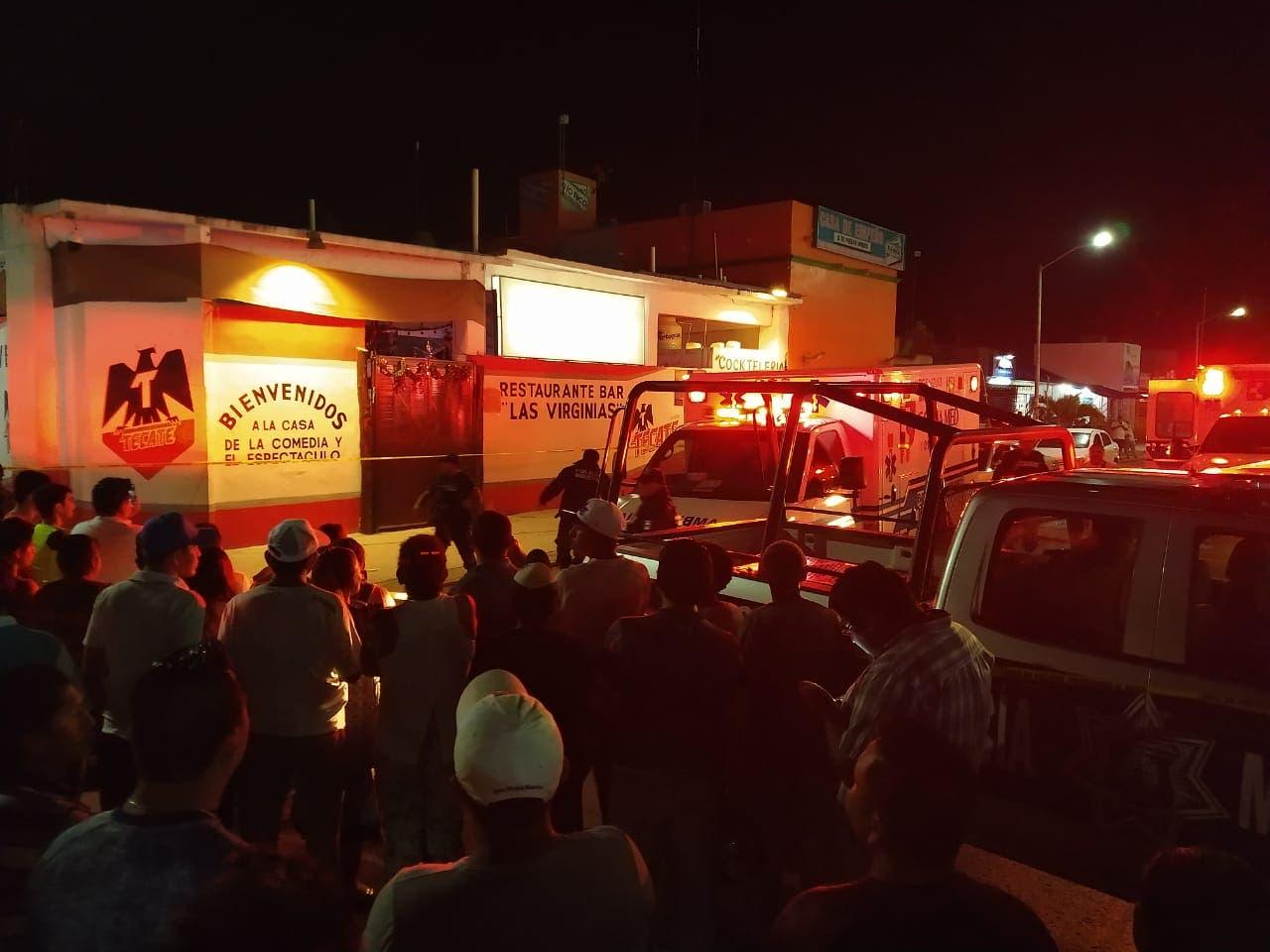 Hunden a presuntos autores de masacre en bar de Solidaridad