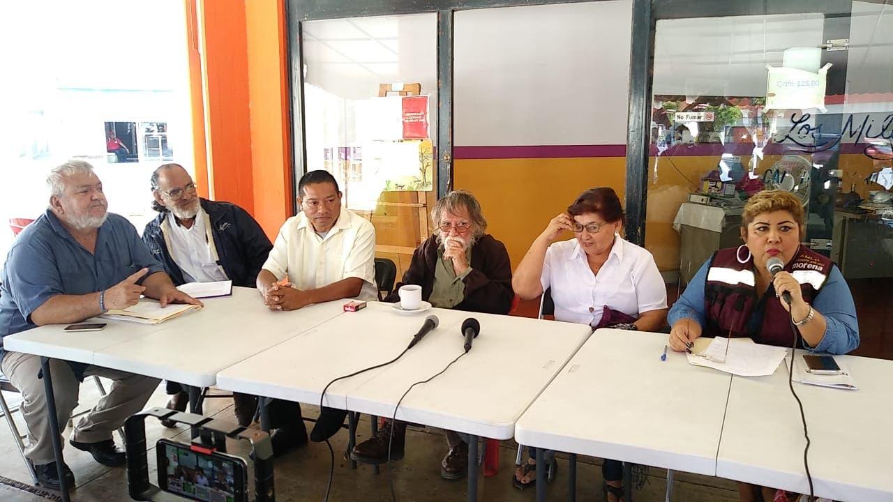 Rechazan alianza de Morena con PT y el Verde en Chetumal