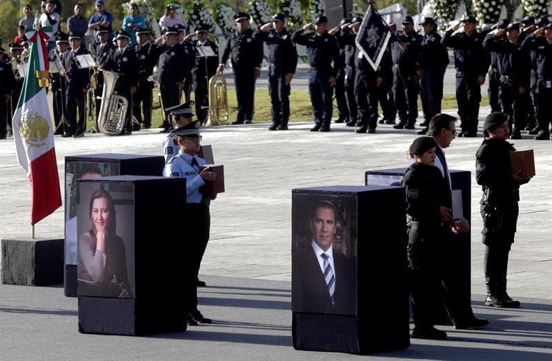 Funerales de la gobernadora Martha Erika Alonso y de su esposo el senador Rafael Moreno Valle.