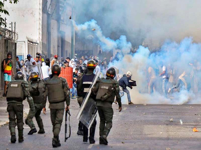 OVCS indica que son 13 los muertos por las protestas en Venezuela