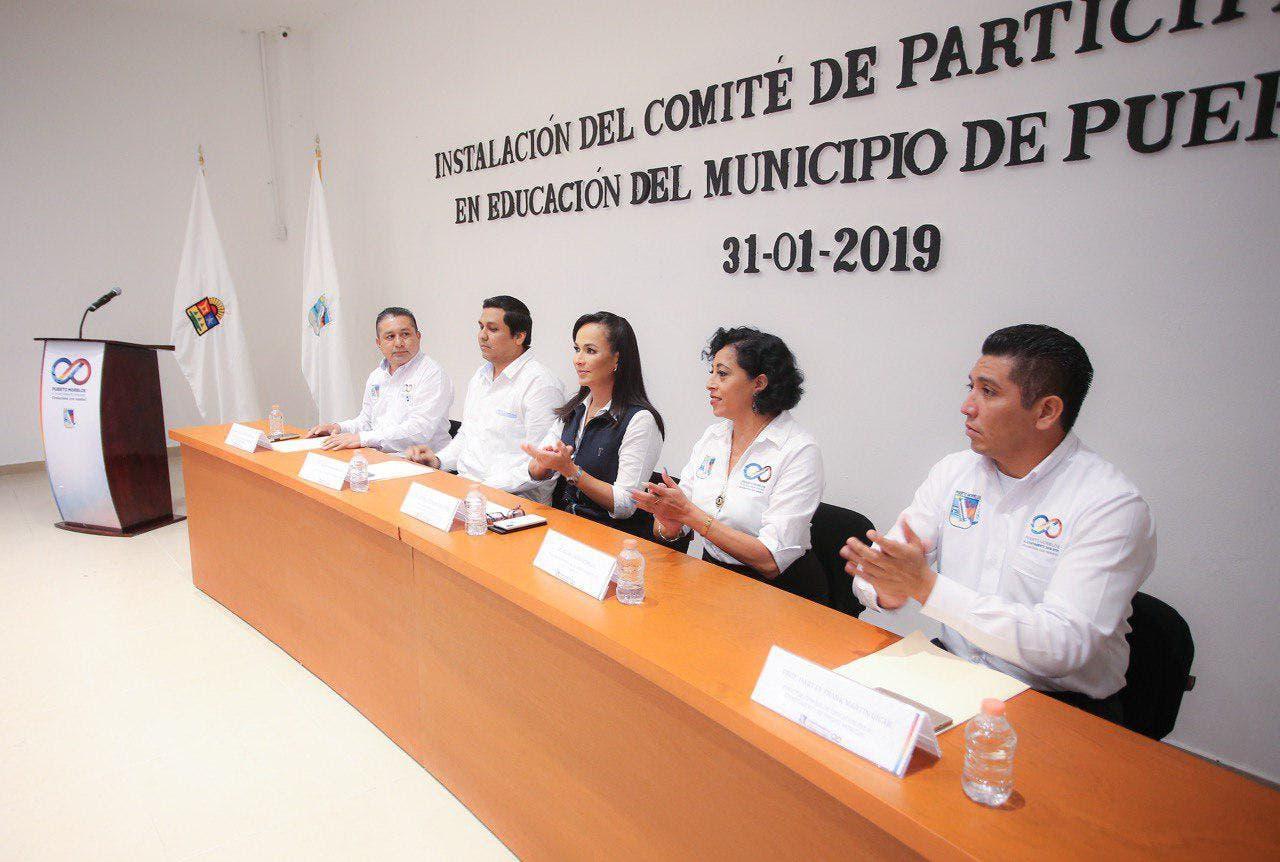 Instalan Comité de Participación Social en Educación de Puerto Morelos