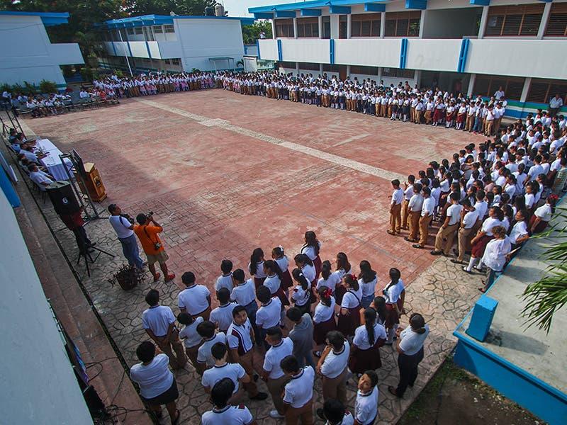 Robo de escuelas en Cozumel