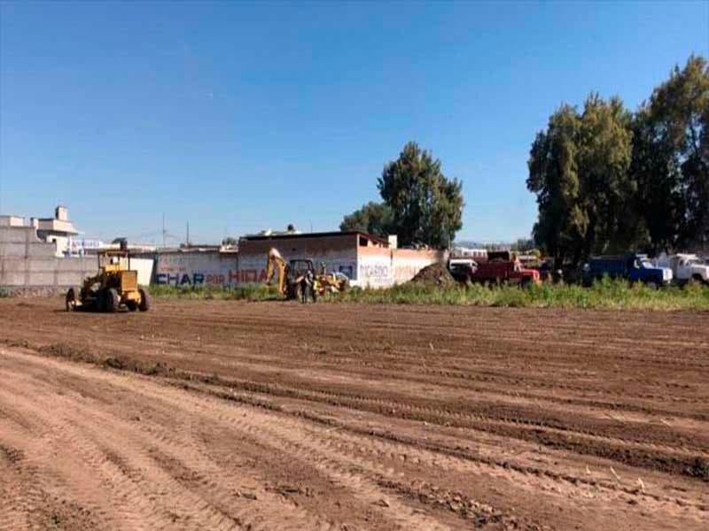 La Sopot trabaja para ampliar el panteón de Tlahuelilpan; habrá espacio para sepultar a las victimas