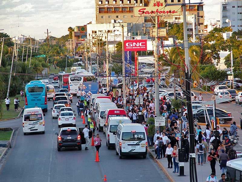 Transporte público cancún