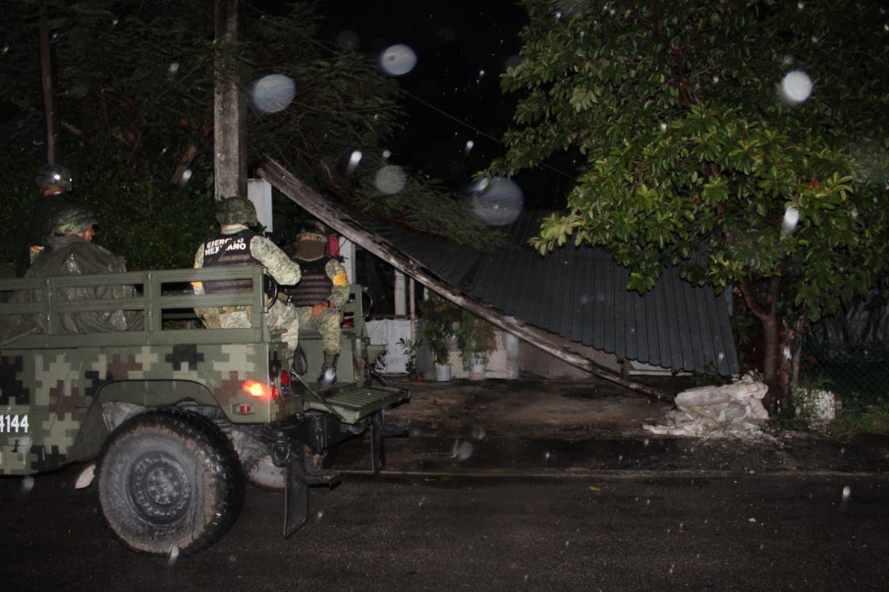 saldo blanco tras afectaciones en Cozumel y Playa del Carmen
