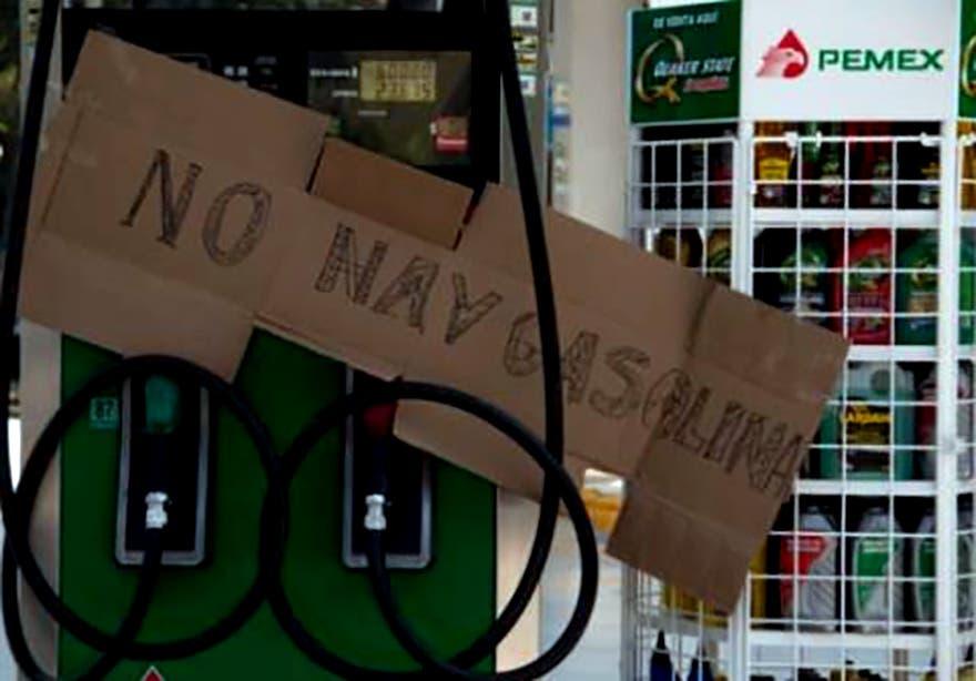 ¿Escases de gasolina en Yucatán?