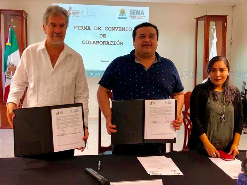 Sema y CDHE fortalecerán la cultura de derechos humanos en Chetumal