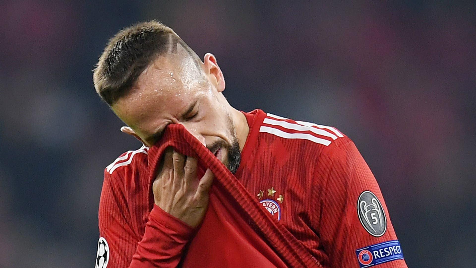 Bayern Munich confirma sanción a Franck Ribéry por insultar a aficionados