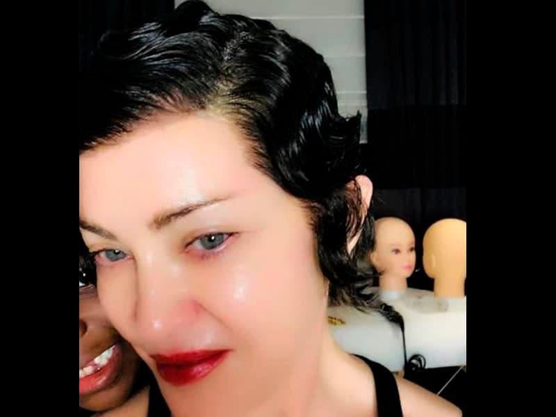 Madonna recibe duras críticas sobre su nuevo look con peinado corto