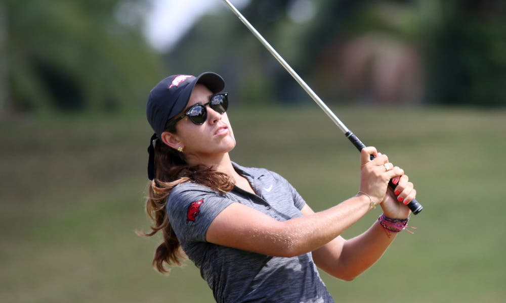 María Fassi se despide de su faceta como golfista amateur