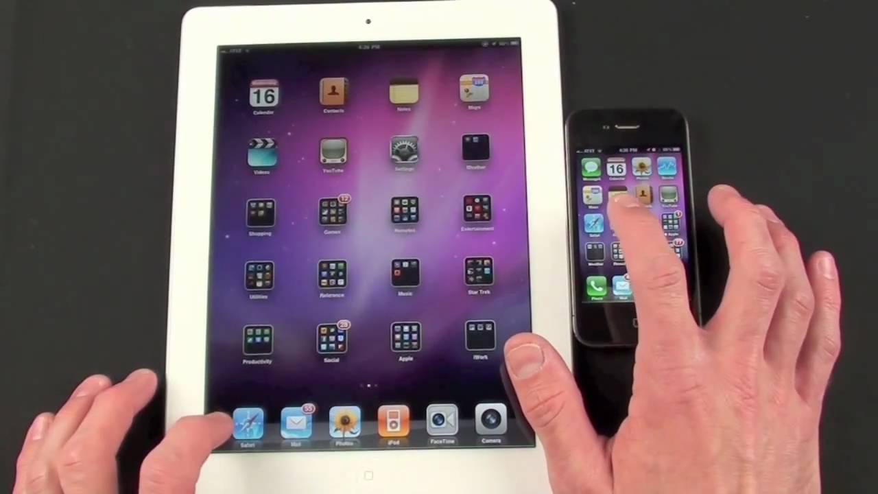 iPhone 4 y iPad 2