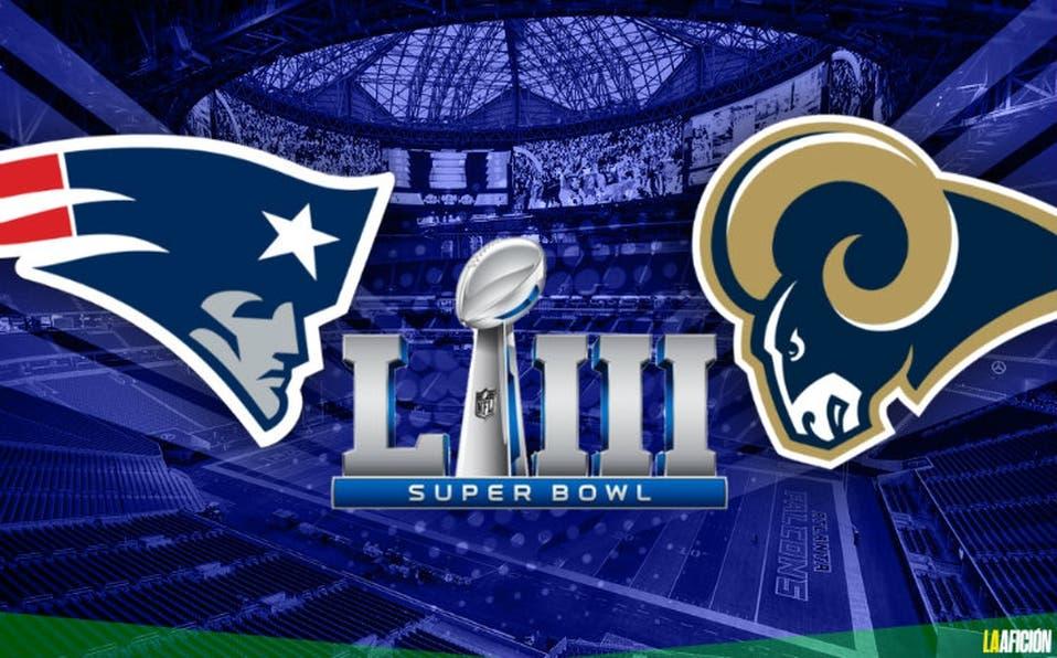 NLF: Los Rams se enfrentarán a los Patriots en el Super Bowl LIII