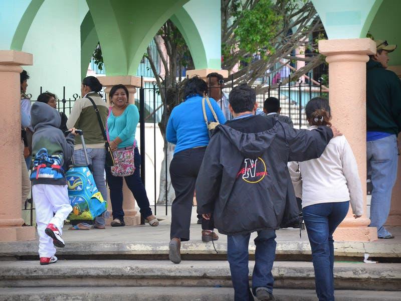 Persisten bajas temperaturas en la Península de Yucatán