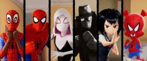 """""""Spiderman Un Nuevo Universo"""" animación"""