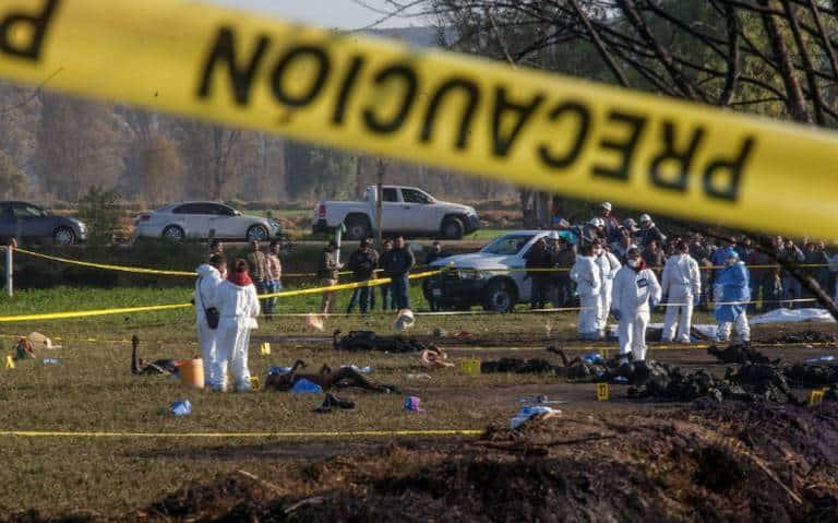 Caída de un celular presunto detonante de la explosión de ducto de gasolina en Tlahuelilpan, Hidalgo